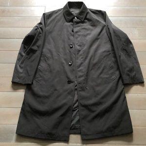 Black lined raincoat Sanyo R 42